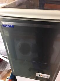 Chest freezer 55cm stainless steel very good condition for sale