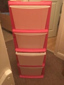 Pink drawers