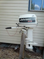 25 HP JOHNSON OUTBOARD