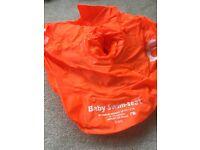 Mothercare Baby swim seat.