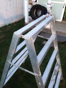 Scaffold ladder REDUCED Now $125.00 Strathcona County Edmonton Area image 3
