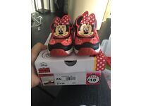 Minnie Mouse light up trainers size 7