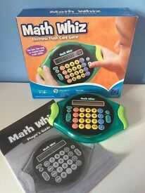 Learning Resources Math Whiz Challenge - Educational toy - Boxed with instructions - VGC