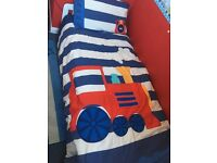 Train single duvet and pillowcase - NEXT