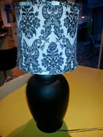 RE PURPOSED TABLE LAMP