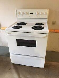 "30"" Fridgidaire electric stove"