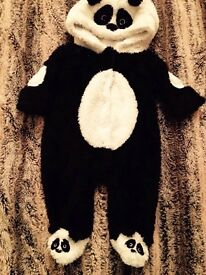 Next newborn warm suit panda style up to 1month old vgc worn once £5