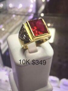 Gold ring Cambridge Kitchener Area image 8