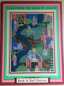 """Painting poster """"Pages from the book of Avalon""""  St. John's Newfoundland image 1"""