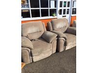 2 lovely electric reclining chairs