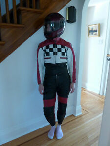 IM Leather Women Sport Racing Motorcycle Leather Suit