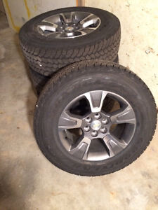 4 Chevrolet Truck Tires and Rims