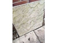 50x paving flags sand colour and slightly textures 450x450mm