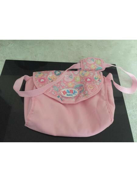 Baby born doll changing bag