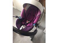 Mamas and papas cybex Aton car seat group 0+