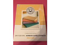 New - Sew Your Own Notebook Covers & Notebook