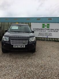 Land Rover freelander 2 xs td4 2.2 6 months warranty extended warranty available