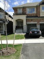 3 bedrooms house with finished basement for rent in Richmond Hil