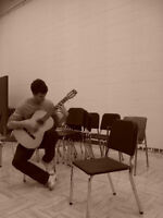 Guitar Lessons - ALL STYLES - 20$ per hour.