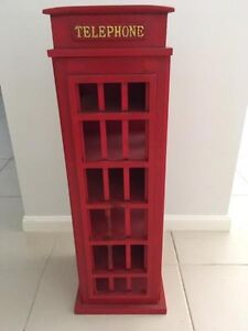 Retro Industrial English Telephone Booth Wine Rack Rustic Camden Camden Area Preview
