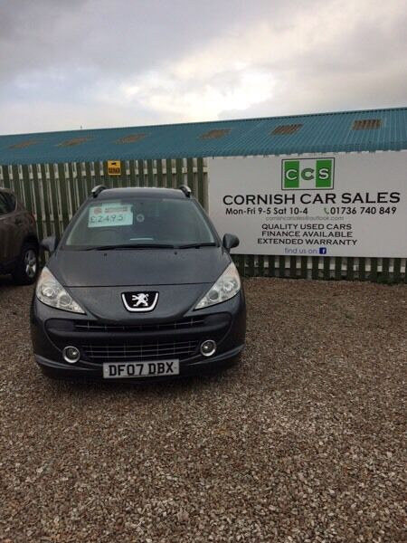 Peugeot 207 sport sw 6 months warranty extended warranty available
