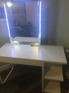 Custom Makeup Desk