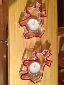 Christmas Candle Holder Strathcona County Edmonton Area image 1