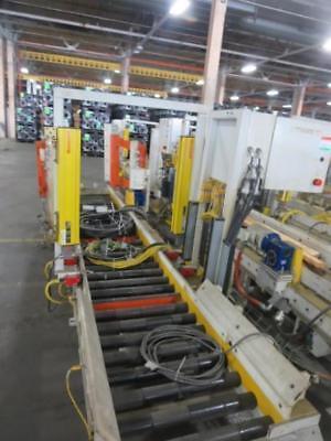 1 Section Power Powered Conveyor 15 Feet 22.75 Roller Light Curtians Actuator
