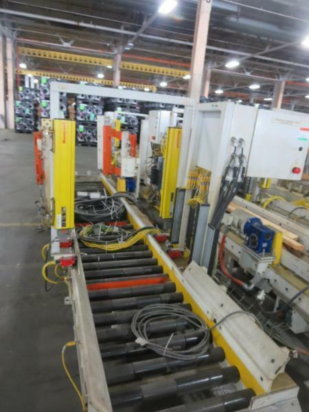 "1 Section Power Powered Conveyor 15 feet 22.75"" roller Light Curtians & Actuator"