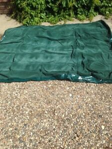 For sale 9x12 dinning screen tent and air bed