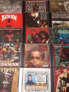 HIP HOP RAP CLASSIC/UNDERGROUND CD's COLLECTION FOR SALE