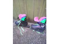 Roller blades size 4