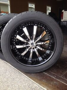 22 inch wheels and tires