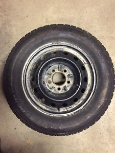 205/55R15 snow tires and rims 5 x 114.3