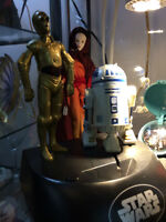 R2 D2 & 3PO , Animated , Talking , Bank