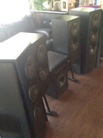speakers and amp subs