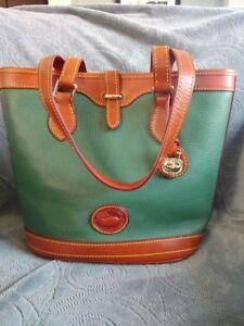 Dooney & Bourke All Weather Leather Bucket Bag - Ivy