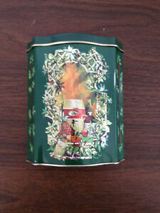 Avon Christmas tin