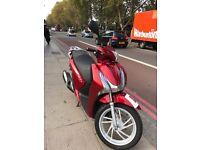 Honda sh125 red 2013