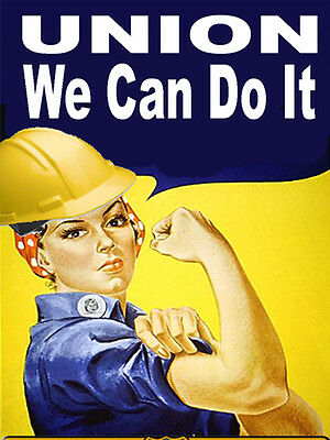 We Can Do It Union Sticker Cu-1