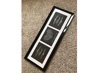 Personalised wedding frame Gift