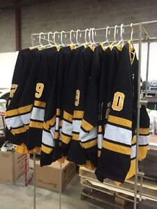 Set of 13 hockey jerseys