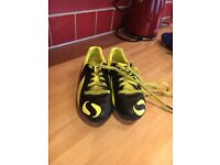 Boys football boots size 13