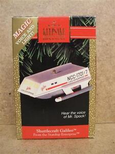 Hallmark Keepsake Ornaments: Star Trek Shuttlecraft Galileo