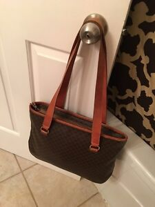 Celine vintage tote purse handbag large
