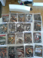 36 PS2 Video Games for Sale