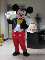 RENT MICKEY MOUSE MASCOT COSTUME