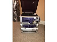 Goodmans 3CD/Record Player/Casette/Radio