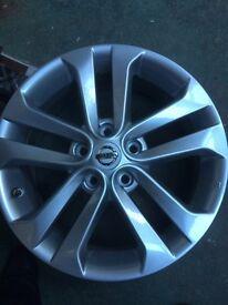 """Nissan Alloy Wheels 17"""" NEW"""