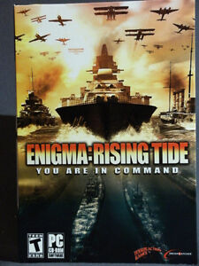 PC Game: ENIGMA: RISING TIDE - You are in Command!
